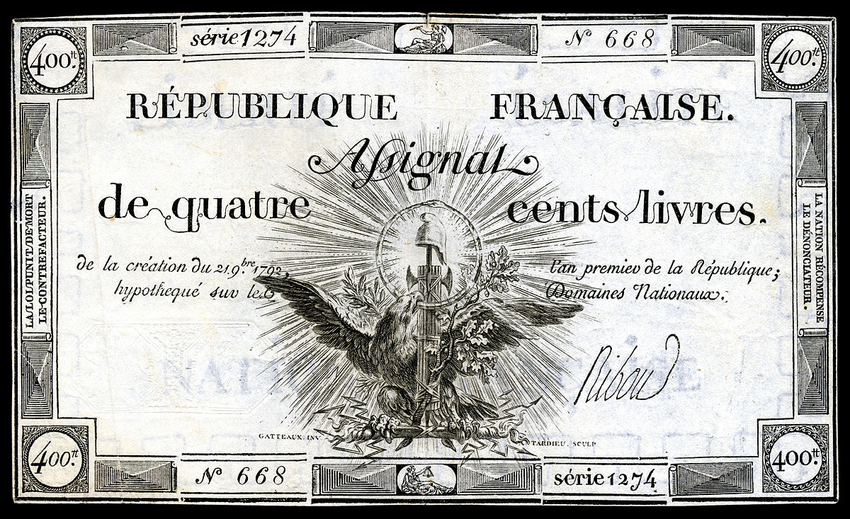 FRA-A73-République Française-400 livres (1792) 2.jpg
