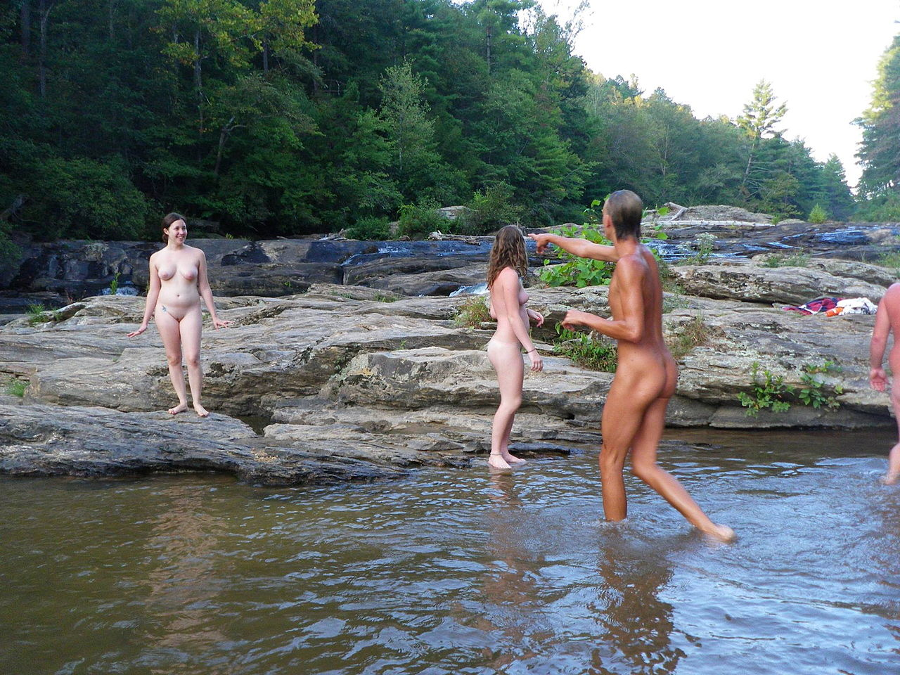 from Tomas swimming holes girls bare