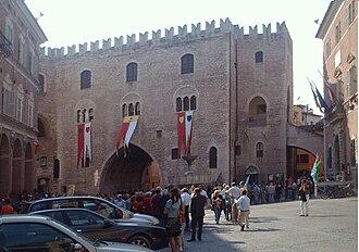 Fabriano - Palazzo del Podestà.