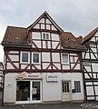 Fachwerkwohnhaus von 1691 einer Hofanlage - Eines der ältesten Gebäude im Ort (Hofseite) - Meinhard-Grebendorf Kirchstraße 16 - panoramio.jpg
