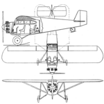 Fairchild 41 3 view Aero Digest January 1929.png