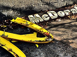 Fallen arches mcdonalds