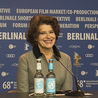 Fanny Ardant - Fanny Ardant at the press conference of Shock Waves – Diary of My Mind at Berlinale 2018