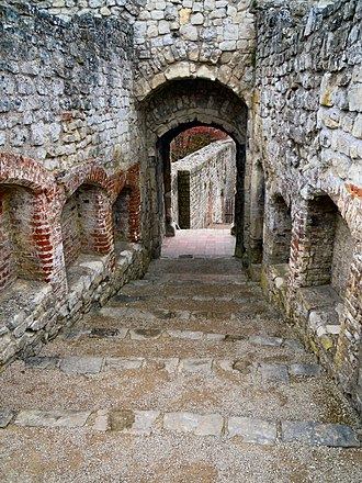 Farnham Castle - The entrance to the keep