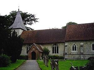 Farringdon, Hampshire - Image: Farringdon church