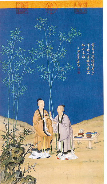 File:Father and Son. Emperors Qianlong and Yongzhen.jpg