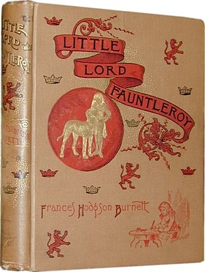 Little Lord Fauntleroy - First edition cover