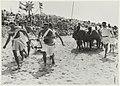 Feest op het strand t.g.v. het 50-jarig bestaan van kampeervereniging Helios. NL-HlmNHA 54023511.JPG
