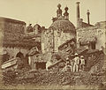 Felice Beato (British, born Italy - (The Mine in the Chattar Manzil Exploded by the Enemy at the First Attack of General Henry Havelock) - Google Art Project.jpg