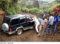 Figure 10- Stuck Vehicle during a Visit by GAO Team to a Mine Site in Eastern DRC (November, 2014) (20976039384).jpg