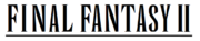 Final Fantasy II wordmark.png