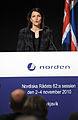 Finlands statsminister Mari Kiviniemi vid Nordiska Radets session i Reykjavik pa Island. 2010-11-02 (2).jpg