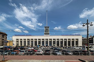 Finland Station - St.Petersburg-Finlyandsky main building