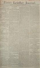 Finn's Leinster Journal 1794