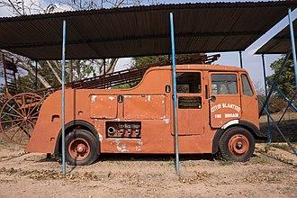 Chichiri Museum - Image: Fire brigade, Blantyre Chichiri Museum