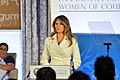 First Lady Melania Trump Delivers Remarks at the 2017 International Women of Courage Award Ceremony (33722820805).jpg