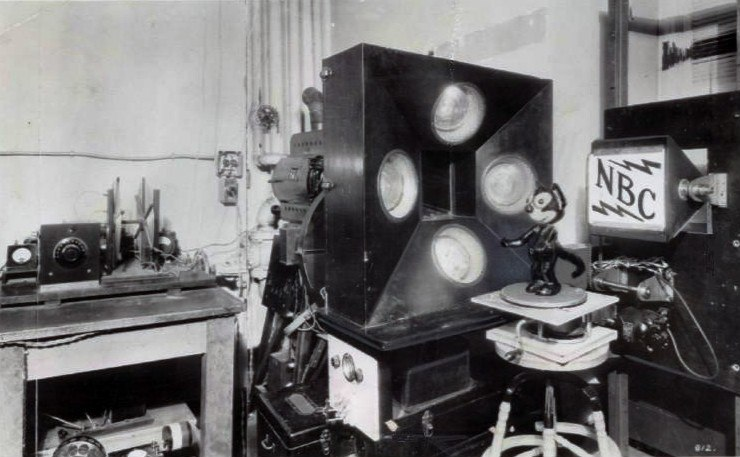 First television broadcast NBC