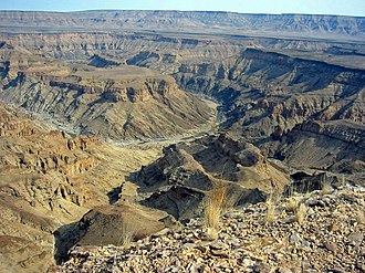 South African National Parks - Image: Fish River Canyon Namibia
