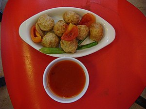 Sweet and sour - Sweet and sour Bid-bid (Pacific Tenpounder) balls