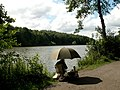 Fishing at Newmillerdam - geograph.org.uk - 483548.jpg