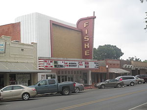 West Carroll Parish, Louisiana - Historic Fiske Theatre in Oak Grove has served West Carroll Parish since 1928.