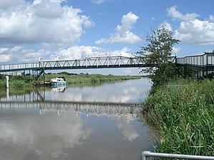 Fiskerton, Lincolnshire - Image: Five Mile Bridge geograph.org.uk 1718808