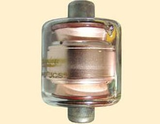 Vacuum variable capacitor - A fixed-value vacuum capacitor