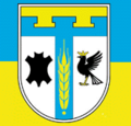 Flag of Tysmenitsky raion in Ivano-Frankivsk oblast.png