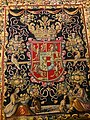 Flanders Tapestry with the coat of arms of Anna Catherine Constance Vasa (detail) 01.jpg