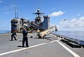 Flickr - Official U.S. Navy Imagery - Sailors launch a Scan Eagle unmanned aerial vehicle..jpg