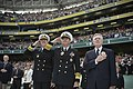 Flickr - Official U.S. Navy Imagery - The Superintendent, SECNAV and CNO salute and pay respect during the singing of the Irish and U.S. national anthems..jpg