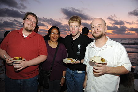 Flickr - Wikimedia Israel - Wikimania 2011 - Beach party (98).jpg