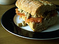 Flickr - cyclonebill - Sandwich med røget laks og svampecreme.jpg