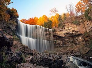 Webster's Falls - Image: Flickr paul bica websters falls revisited