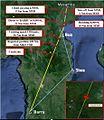 Flight path of PK-BRM (taken from the NTSC).jpg