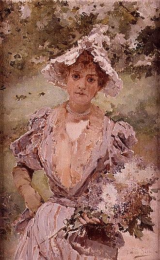 Emilio Sala (painter) - Image: Florista, Emili Sala Francés, Museu de Belles Arts de València