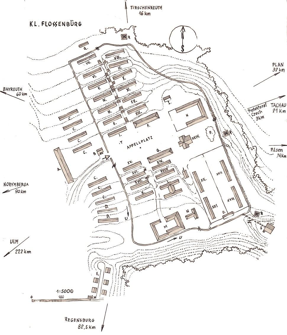 Flossenbürg by Stefan Kryszak - Plan without legend