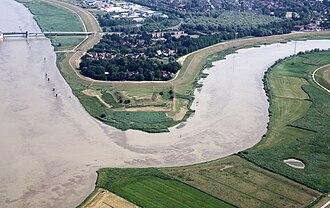 Leda (river) - Mouth of the Leda on the Ems