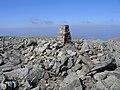 Foel-fras Trig Pillar - geograph.org.uk - 1811611.jpg