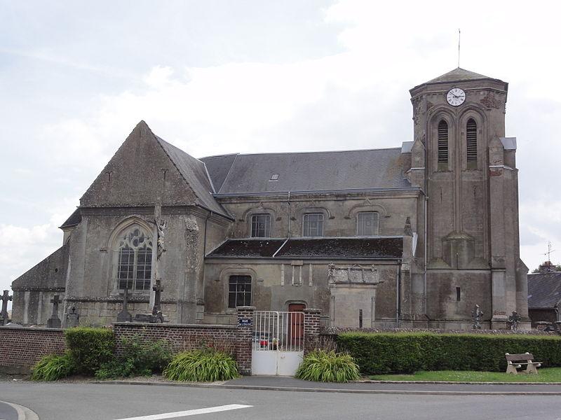 Fontaine-Notre-Dame (Aisne) église