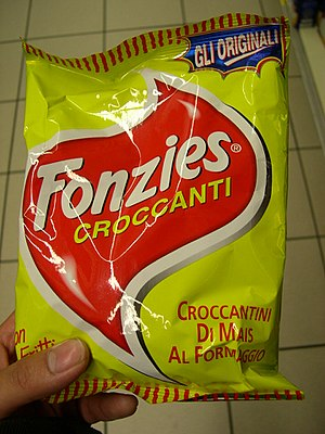 Twisties - A packet of Fonzies