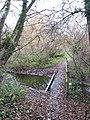 Footbridge over drain - geograph.org.uk - 1050959.jpg