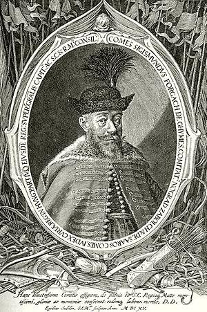 Zsigmond Forgách - Image: Forgách Zsigmond Sadeler