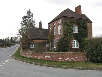 Ashford Carbonell - Former public house at The Serpent crossroads, Caynham Road.