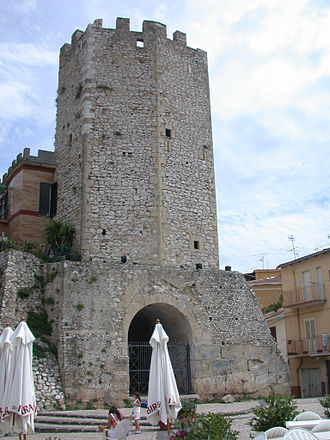 Formia - The octagonal tower of Castellone.