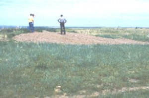 National Register of Historic Places listings in Buffalo County, South Dakota - Image: Fort Thompson Mounds