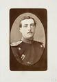 Fotografiporträtt på löjtnan Max Pagel - Hallwylska museet - 107781.tif