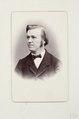 Fotografiporträtt på pastor Diem - Hallwylska museet - 107740.tif