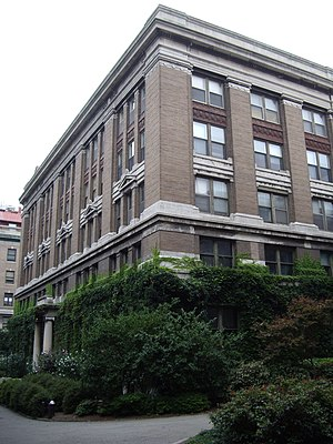 Founder's Hall (Rockefeller University) - Image: Founders hall