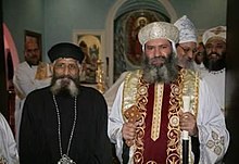 Fr. Anthony with H.G. Bishop Suriel